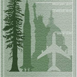 Sequoia National Park Redwood Height Puzzle