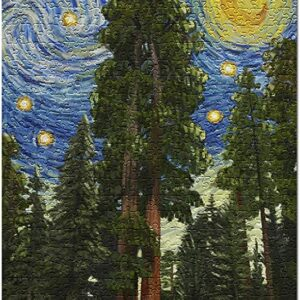 Sequoia National Park Starry Night Puzzle