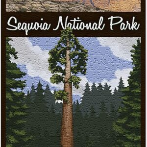 Sequoia National Park Tree And Palisades Puzzle