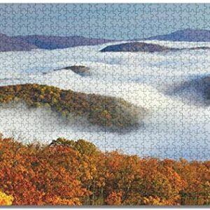 Shenandoah National Park Cloud Puzzle