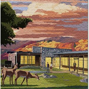Shenandoah National Park Skyland Resort Puzzle