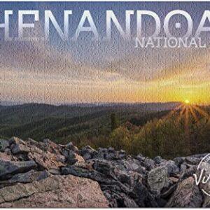 Shenandoah National Park Sunset Puzzle