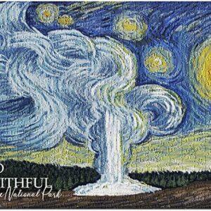 Starry Night Old Faithful Puzzle