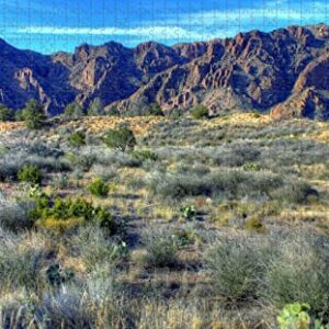 Wooden Big Bend National Park Jigsaw Puzzle