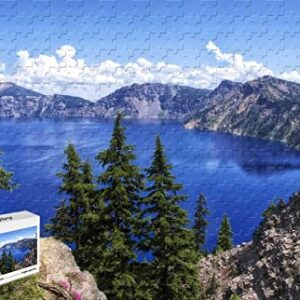 Wooden Crater Lake Crater Lake National Puzzle