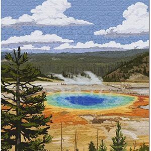 Yellowstone Grand Prismatic Spring Puzzle