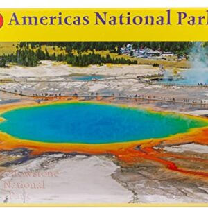 Yellowstone National Park Grand Prismatic Hot Spring Puzzle