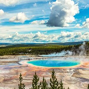 Yellowstone National Park Hot Springs Puzzle