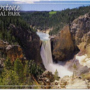 Yellowstone National Park Lower Yellowstone Falls Puzzle
