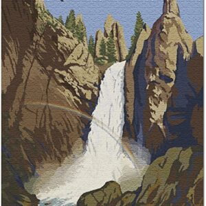 Yellowstone National Park Wyoming Tower Falls Puzzle