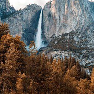 Yosemite Falls Jigsaw Puzzle For Adults
