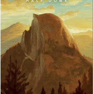 Yosemite National Park California Half Dome Puzzle