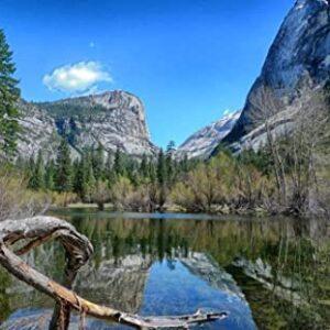 Yosemite National Park Lake Puzzle
