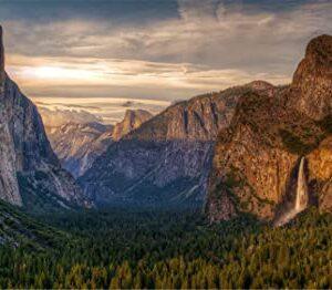 Yosemite National Park Landscape Puzzle