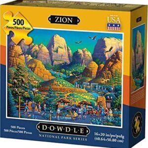 Zion National Park 500 Piece Puzzle