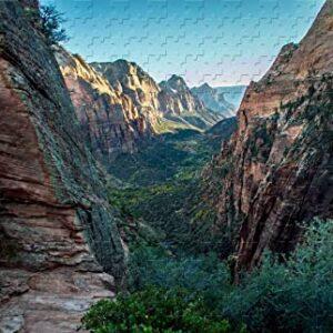 Zion National Park Angels Landing Trail Puzzle
