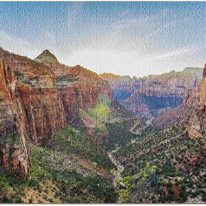 Zion National Park Canyon View Puzzle