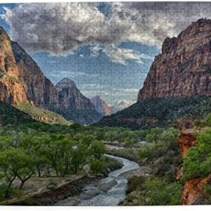 Zion National Park Scenic Jigsaw Puzzle