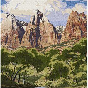 Zion National Park Utah Virgin River Puzzle