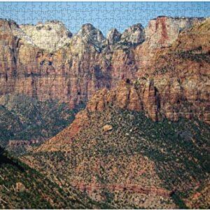 Zion National Park Zion Canyon Overlook Puzzle