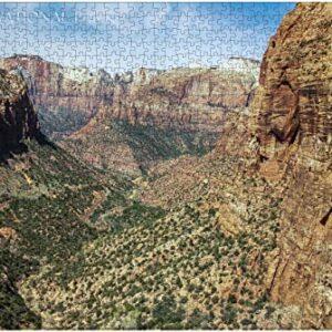 Zion National Park Zion Canyon Puzzle